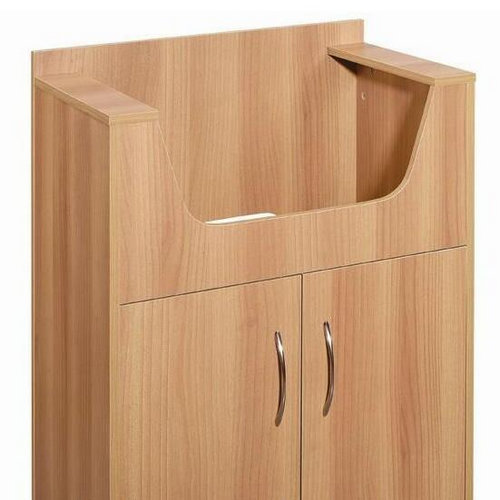 Well Design Euro Style Shampoo Cabinet 2 Is Laminated For Easy Care And Keeping Clean Wooden Hair Salon Storage