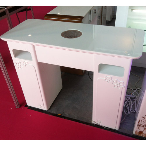 Salon beauty nail dryer table used nail salon desk for Nail salon table