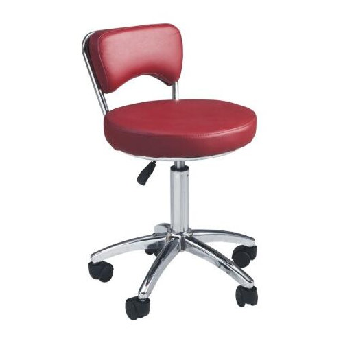 promotion price salon furniture hair cutting saddle stools / all-purpose master task chairs