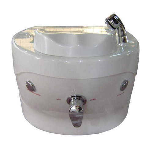 Nail Set--Portable Pedicure SPA MiNi Foot SPA Sink with LED