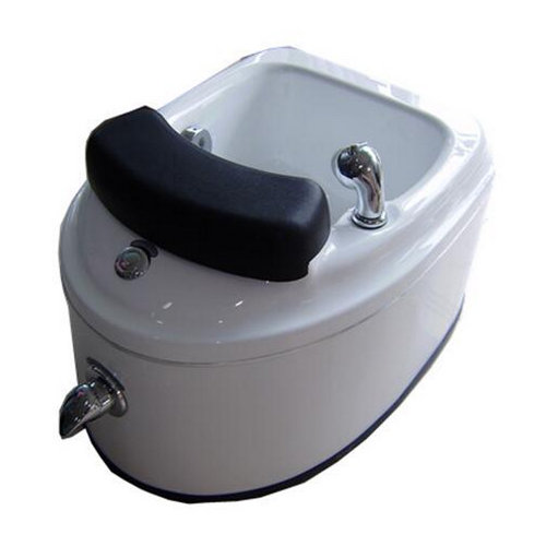 China cheap portable MINI SPA tub Spa sink with LED light cold and warm water massage