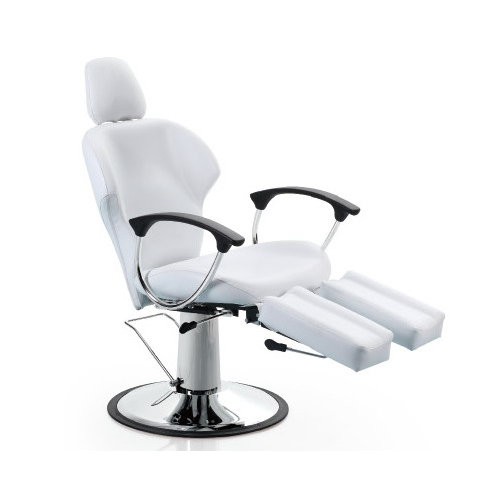 professional reclining spa salon pedicure chair with hydraulic pump in the base