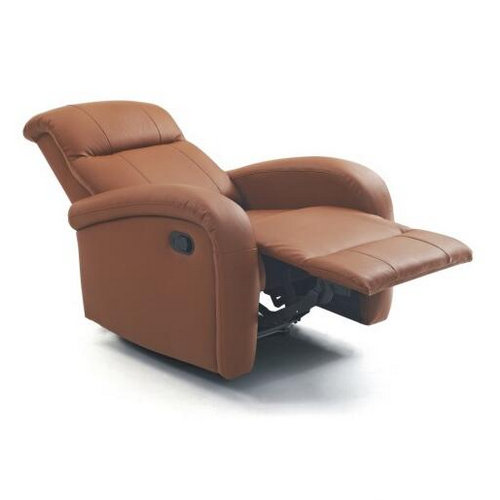 Comfortable genuine leather lift functional airbag massage rocking recliner chair