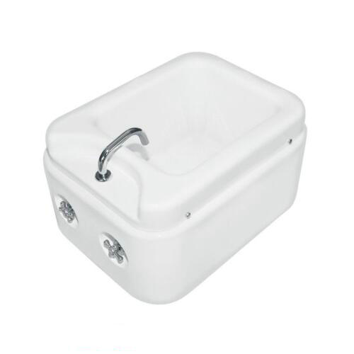 Feet Wash Basin Acrylic Heating Foot Massager Tub Pedicure Foot
