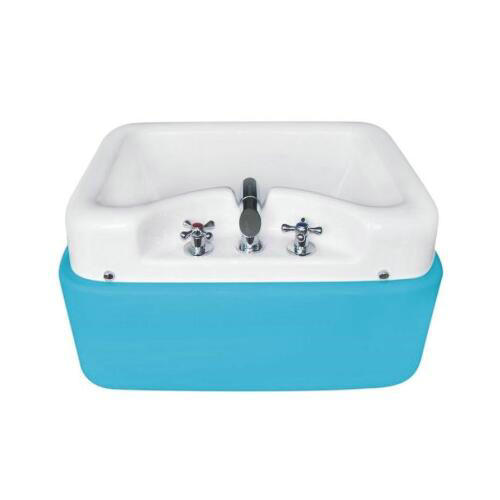 Best Selling White Basin Acrylic Spa Wash Pedicure Foot Massage Tub With Shower