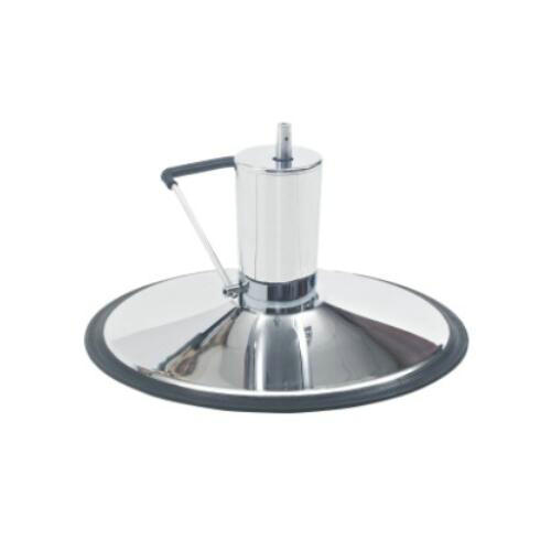 Solid hairdressing barber chair chrome base / salon equipment parts with hydraulic pump