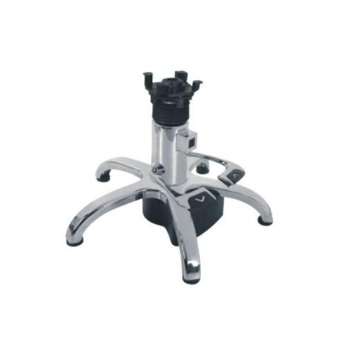 Cheap fashion five paw salon chair base barber chair parts with hydraulic pump