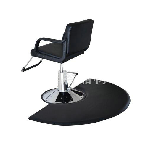 barber chair beauty furniture leather anti slip anti fatigue  salon mats