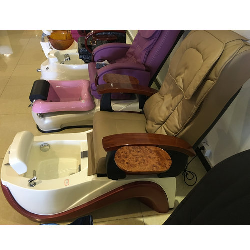 modern electric pedicure chair of nail salon furniture,day foot spa massage chair