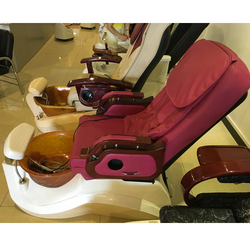Modern manicure whirlpool pipeless footbath spa pedicure chairs with full massage on sale