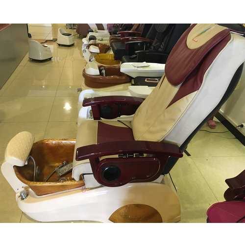 High quality cheap price manicure pedicure chair /nail salon furniture massage spa chair for sale