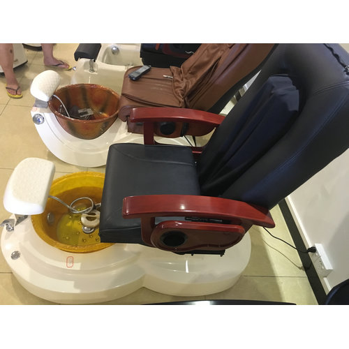 High quality cheap price manicure pedicure chair / nail salon furniture pedicure spa chair for sale