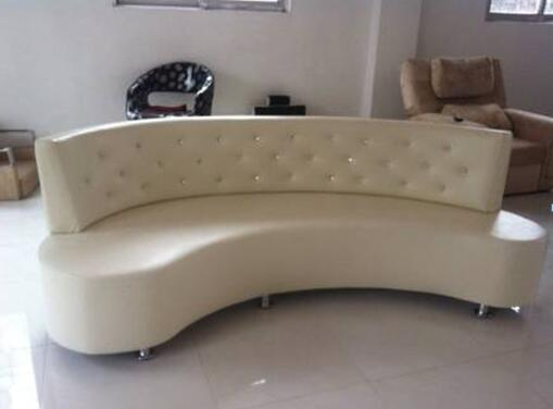Commercial Reception Salon Furniture Leisure Sofa For
